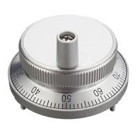 CNC Pulser Handwheel Handle Kit 5V Manual Pulse Generator CNC Machine 60mm Rotary Encoder Electronic Resolution CPR 25,100