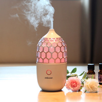 2018 New Household Ultrasonic Aroma Diffuser Air Humidifier Small Fog Essential Oil Diffuser Colorful Night Light
