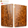 For apple ipad pro 9.7 inch leather Cover Oil Wax Vintage Genuine Leather Protective Folio Case for ipad pro Stand Mount Holder