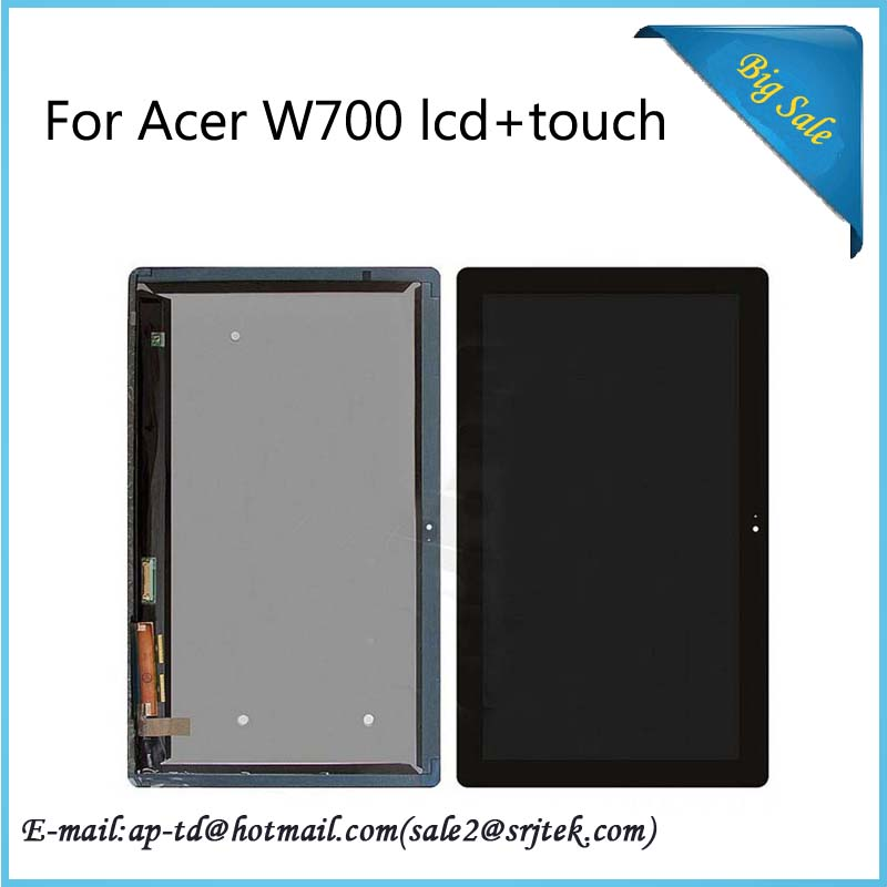Original 11.6 B116HAT03.1 LCD Display+Touch Digitizer Screen For Acer W700 Full Assembly Repair Replacement Tablet Pc