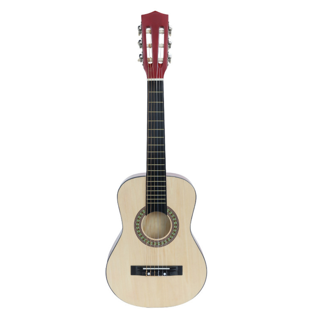 30 Inch Classical Wood Guitar 30 Inch Guitar Beginner Musical music - Escuela y materiales educativos