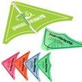 4 unids 1: 64 Mano de La Manera Tirón Planeador Niños Plástico PVC Creativo Al Aire Libre Kite