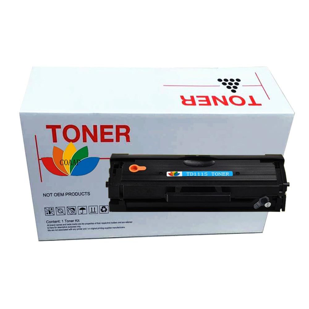 Compatible samsung mlt d111s black toner cartridge for xpress m2020 m2020w m2022 m2021 m2070 m2070fw m2071fh powder for samsung mlt d104 s xil powder for samsung mlt 104 s xaa powder black compatible toner powder free shipping