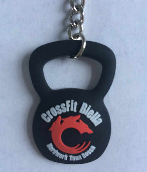Kettle Bell Keychains Promotional Rubber Keyrings With Custom Logo Plastic Key Holder Customized Logo chaveiros personalizado