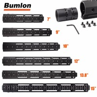 7 9 10 12 13 5 15 AR15 Free Float Keymod Handguard Picatinny Rail For Hunting