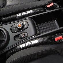 Fibra de carbono leakproof capa protetora caso almofada para dodge ram 1500 2500 3500 acessórios do carro estilo