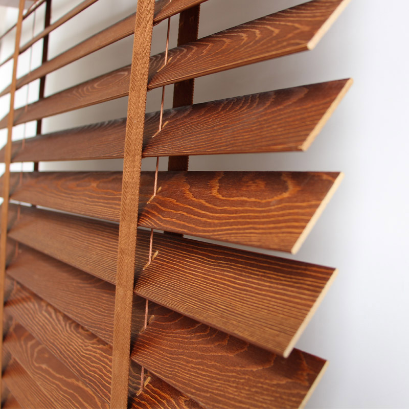Custom wood blinds fine high end environmentally friendly for High end window blinds
