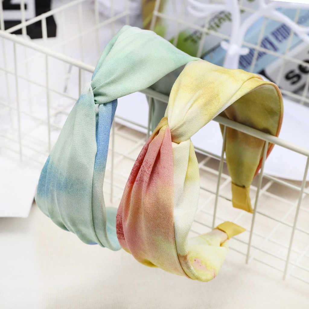 Feminino mão tricô cabeça hairband lã térmica doce meninas hairband acessórios para mulheres faixa de cabelo para menina