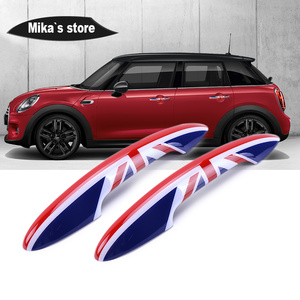 Image 3 - For Mini cooper F55 F56 F54 F57 F60 Countryman Car Styling Exterior Door Handle Cover Trim Protective Case car accessories JCW