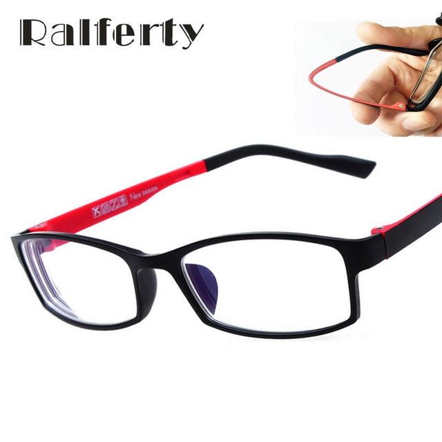 Ralferty TR90 óptica gafas con lentes miopía para los hombres y las mujeres  estudiante pequeño marco 110ab08670