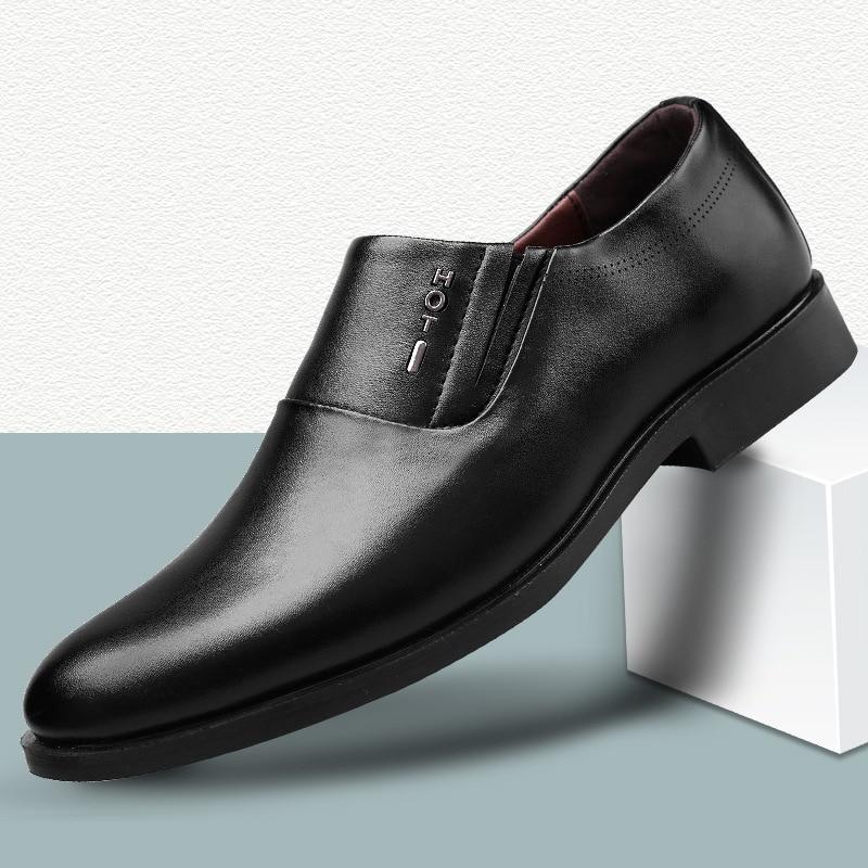 Новинка; Мужские модельные туфли; Официальная Свадебная обувь из натуральной кожи; Броги в стиле ретро; Деловая мужская обувь на плоской подошве; Оксфорды для мужчин Туфли      АлиЭкспресс