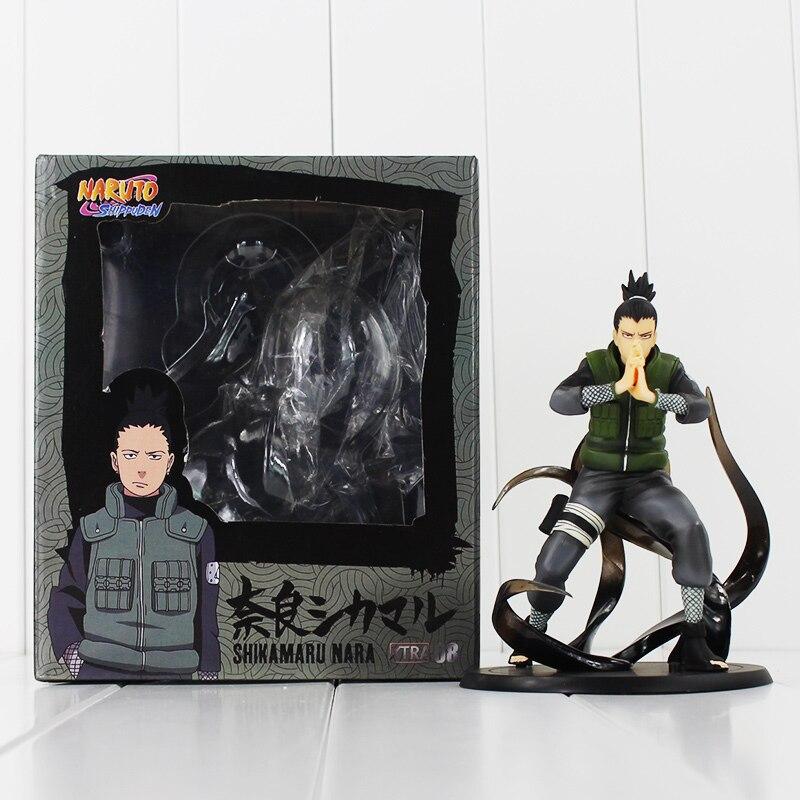 Naruto Action Figures Nara Shikamaru Shippuden Movie Naruto Figure PVC Toys with box