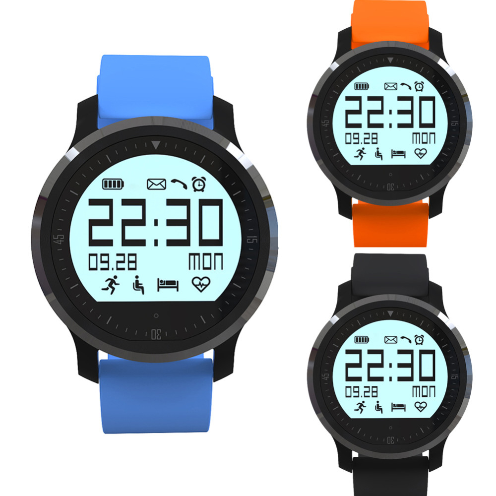 Smart Watch F68 Wristwatch font b Smartwatch b font IP67 Waterproof Heart Rate Monitor Pedometer Colck