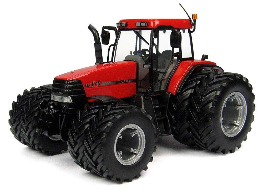 UH4223 1:32 чехол IH MAXXUM MX170 Двойные колеса игрушки