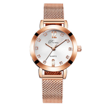 2020 Ladies Wrist Watches Women Wristwatch Silver Brand Luxury Quartz Female Clock Rose Gold Stainless Steel - gold white