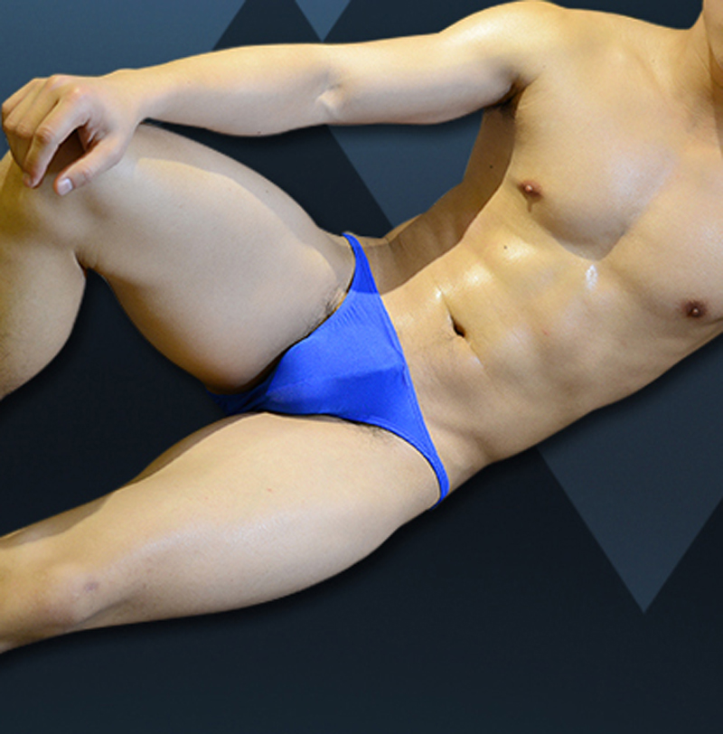 You men nylon bikini