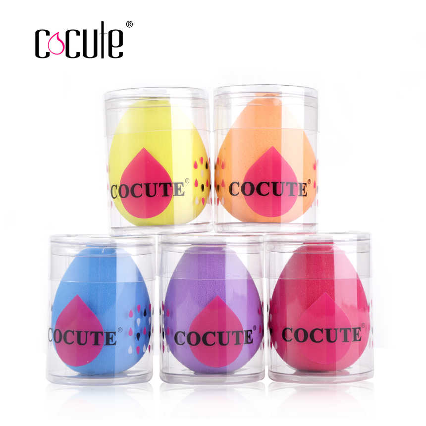 Cocute Resilient Makeup Sponge Foundation Sponge Cosmetic Powder Puff Soft Make up Sponges Grow Bigger in Water Beauty Tool