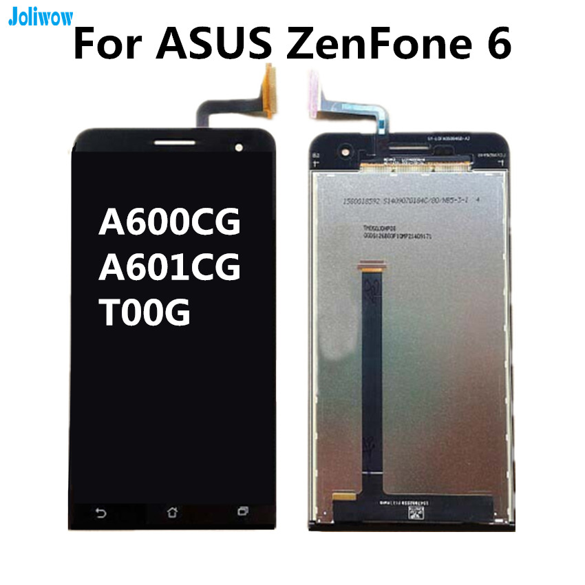6 0 quot For ASUS ZenFone 6 A600CG A601CG T00G LCD display Touch screen Digitizer Assembly for phone in Mobile Phone LCD Screens from Cellphones amp Telecommunications