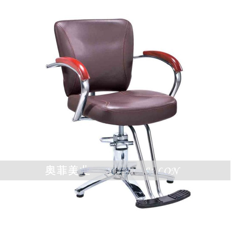 The chair lift. Barber chair. Hairdressing chair.The chair lift. Barber chair. Hairdressing chair.