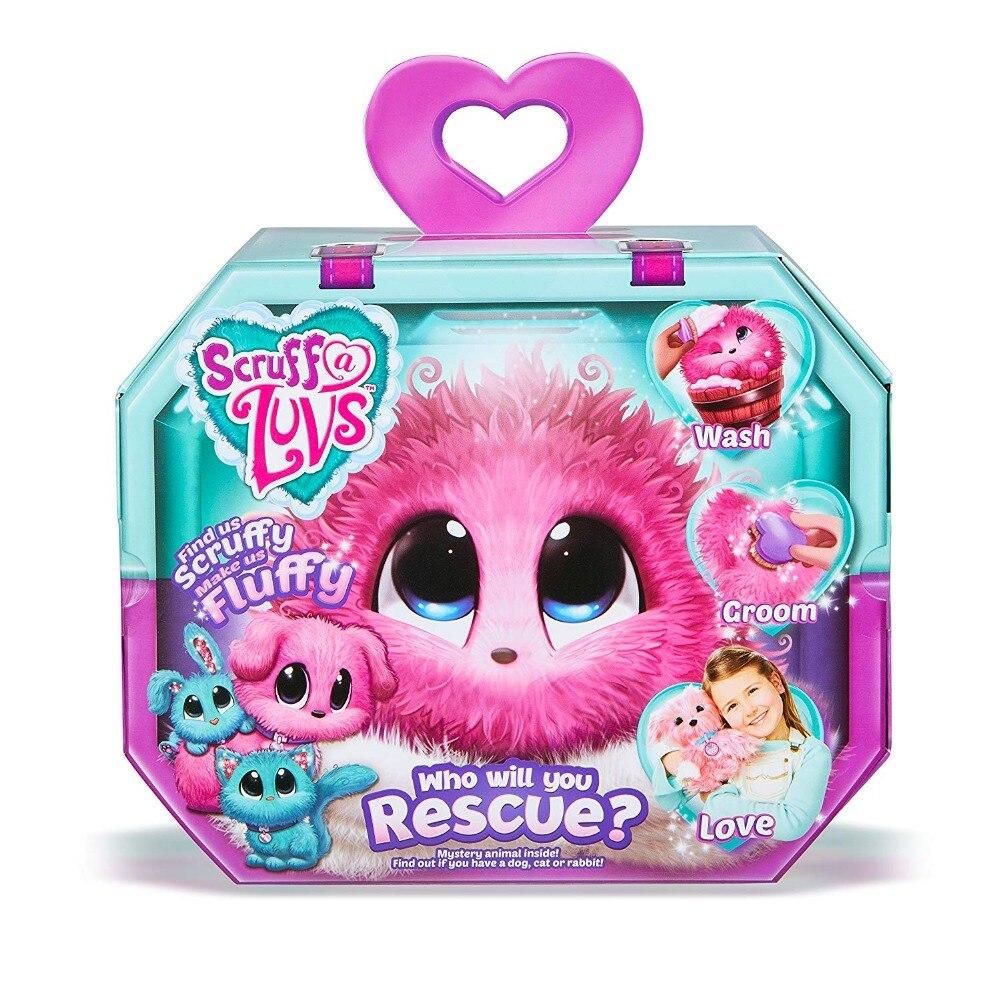 De peluche de felpa de juguete animal pequeño en directo de mascotas juguete Scruff-un-Luvs misterio de rescate para jouet enfant 2019 regalo de Año Nuevo