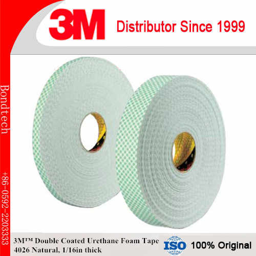 Detail Feedback Questions about 3M 4026 Double Coated Urethane Foam