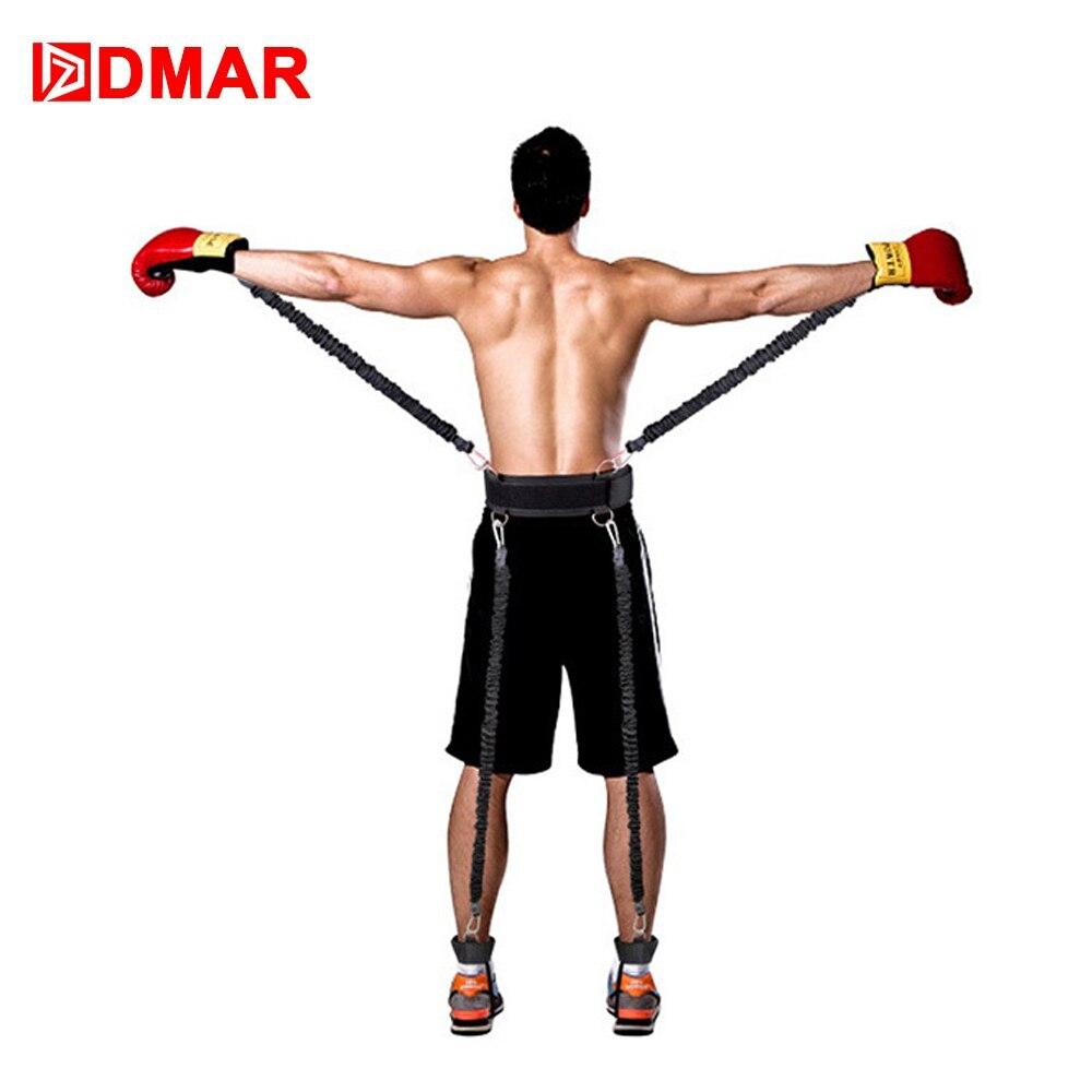 DMAR bandes de résistance boxe Endurance agilité tirer corde Crossfit bande de caoutchouc basket-ball bondissant entraînement résistance corde ensemble