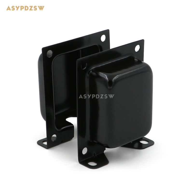 2 PCS EI transformer laminations end bells EI66 Vertical cattle cover Integration with mounting bracket side cover