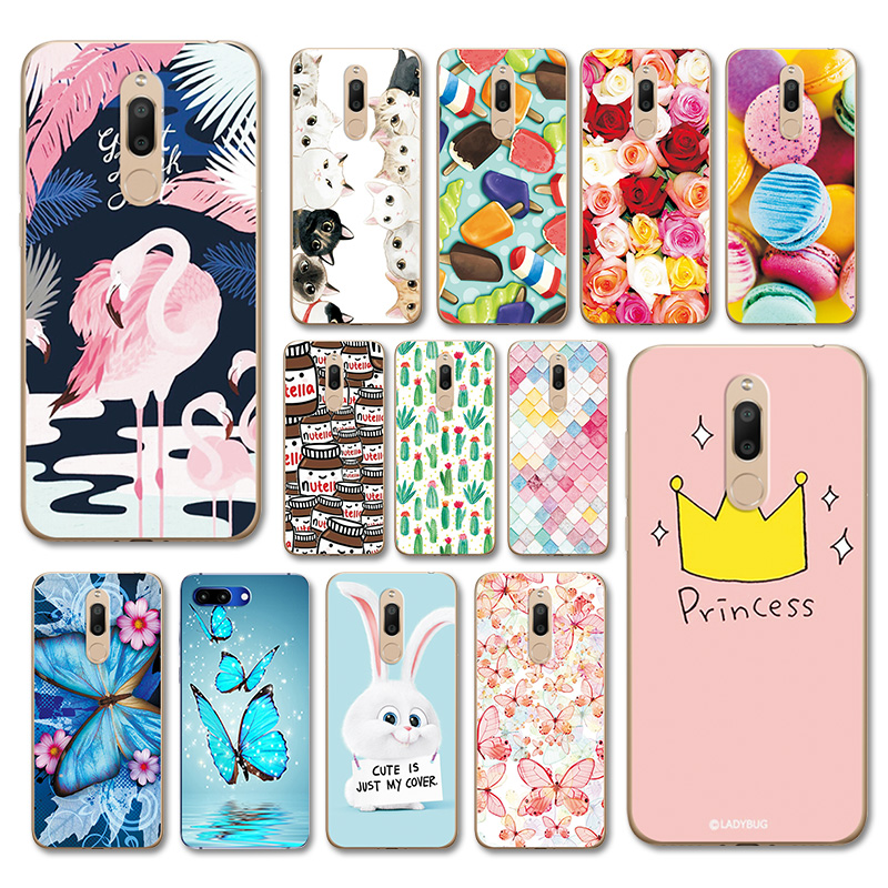 Cute Various Painted Case For Meizu M6T M6 T Flower Soft Silicone Capa Phone Shell For Meizu M6T M811H 5.7
