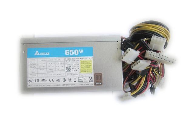 650W 4U server dedicated power tower GPS-650JB FREV silent fan hks silent hi power на chaser