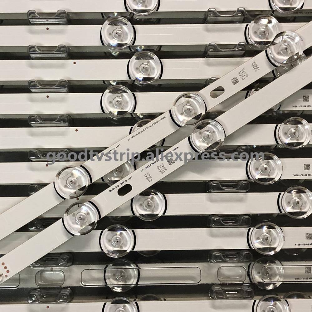 NEW Full Backlight Array LED Strip Bar LG 55LF652V 55LB630V 55LB650V LC550DUH FG 55LF5610 55LF580V 55LF5800 55LB630V 55LB6300