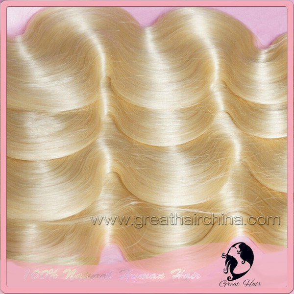 Blonde Body Wave Natural Capelli Umani Hair Extension 16 26 613