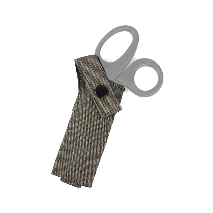 Tactical Military MOLLE Medical Scissors Holder Pouch Sheath Coyote Brown Ranger Green Wolf Grey BK OD KK(XTC051097)