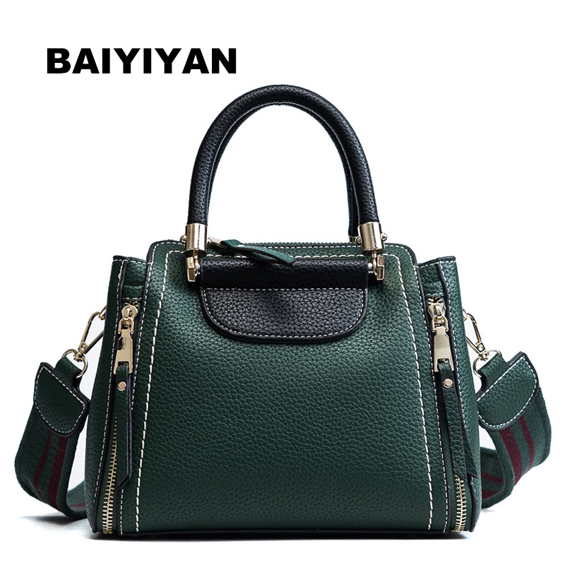 BAIYIYAN Brand New PU Leather Women Handbag Shoulder bag Female Tote bag Women's Crossbody Bags Ladies Business bag