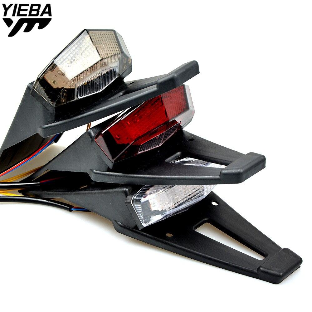 For Ktm Xr Xr Xr Wr F Wr F Crf X Crf X Crf Motorcycle Bike Rear Fender Taillight Led on Crf450x Led Light
