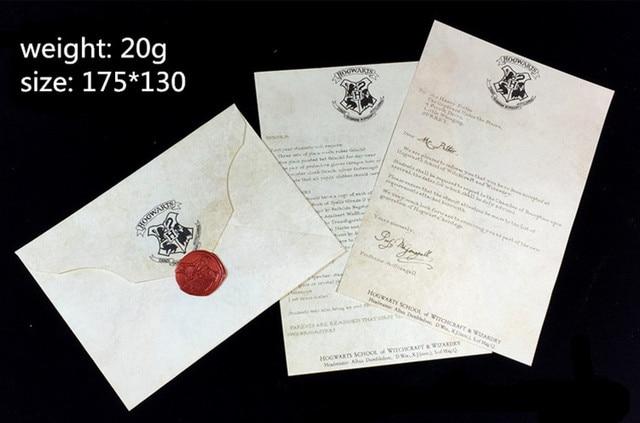 Aliexpress Buy Free shipping HOT Hogwarts Acceptance Letter – Hogwarts Acceptance Letter