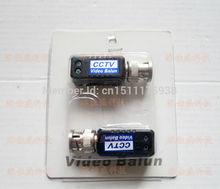 Free Shipping CAT5 To Camera CCTV BNC UTP Passive Video Balun Transceiver High Quality cctv video balun surveillance 10PCS