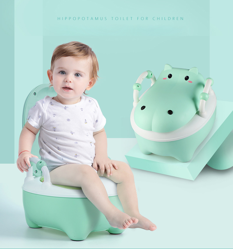 Cartoon Kids Baby Toilet Training Children Toddler Potty Trainer Seat Chair
