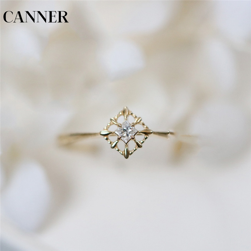 Practical Canner Dainty Zircon Stone Finger Ring Gold Filled Engagement Rings Fashion Wedding Bands For Women Minimalist Jewelry R4 With Traditional Methods
