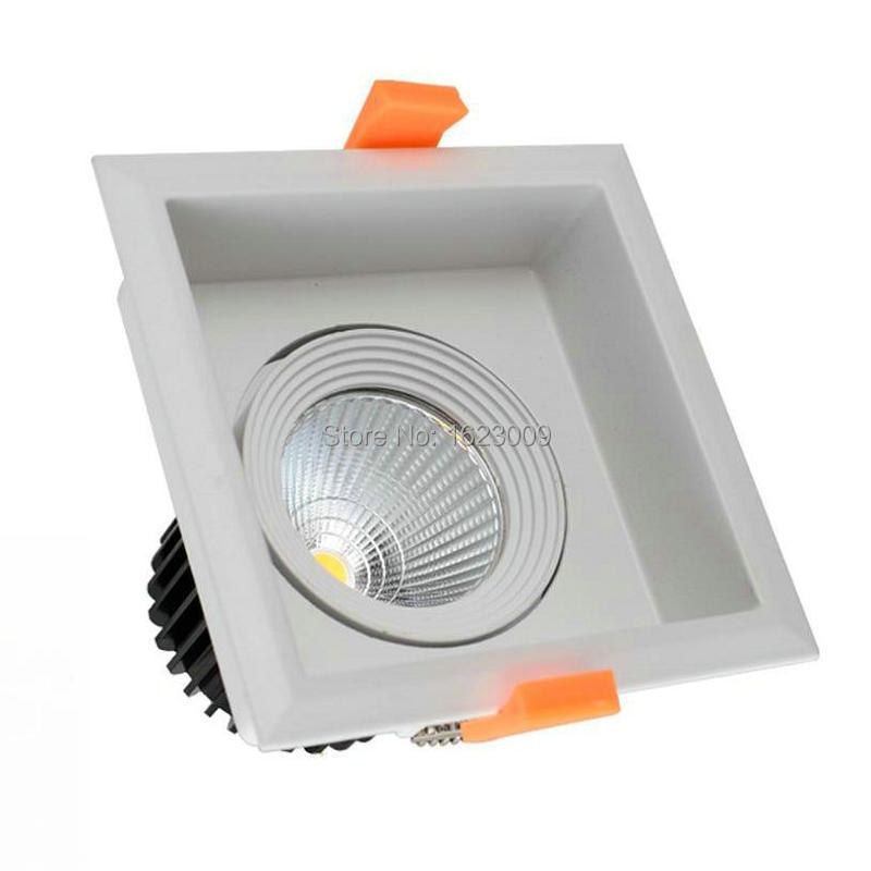 Горячая Распродажа! 10 Вт 15 Вт 20 Вт COB светодиодный светильник 20 Вт COB светодиодный потолочный светильник, Диммируемый/без затемнения