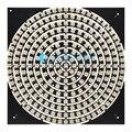 1 8 12 16 24 32 40 48 60 93 241 Pedaços de LEDs SK6812 WS2812 5050 RGB + branco quente LEVOU Anel de Luz Da Lâmpada com Drivers Integrados