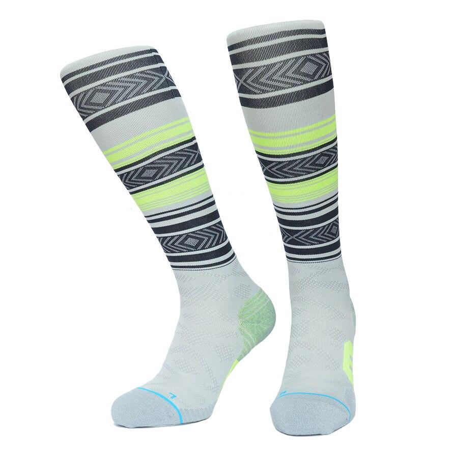 Этническая полоса сжатия Носки для девочек coolmax спортивные носки спорта на открытом воздухе Бег лыжный Вело-носки для Для мужчин