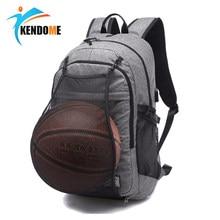 Hombres al aire libre deportes gimnasio baloncesto mochila bolsas de  escuela para adolescentes chicos fútbol bolsa 63d31ac503872