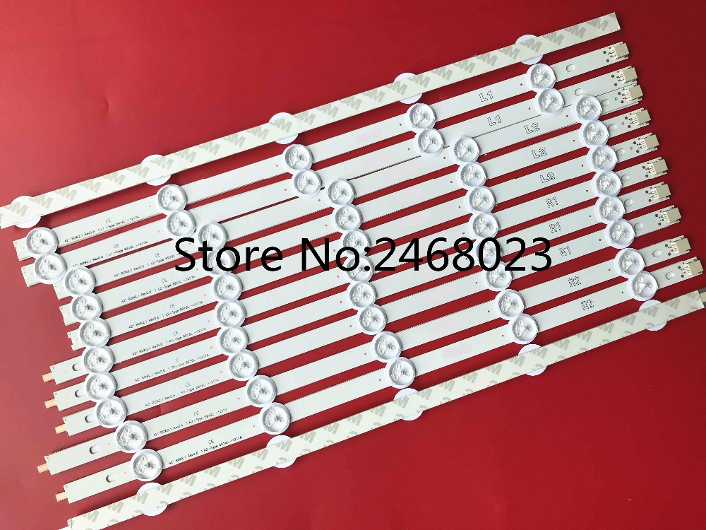 New 10 Pieces FOR 42LS315H-CA led backlight LG INNOTEK 42 NDE REV 0.3 A TYPE E74739 6916L-1214A 6916L-1215A 6916L-1216A-1217A