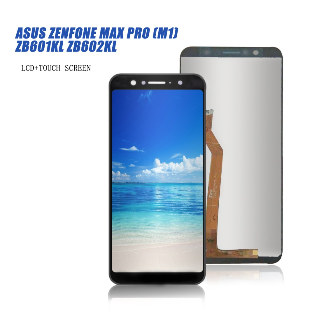 For ASUS ZenFone Max Pro (M1) ZB601KL ZB602KL Touch Screen Digitizer LCD Display Assembly Free Shipping
