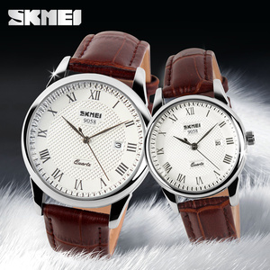 Image 2 - 2020 SKMEI brand watches men quartz business fashion casual watch full steel date women lover couple 30m waterproof wristwatches