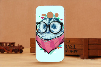 For Samsung Galaxy Ace 3 S7270 S7272 Case Beautiful Flowers Painting Cute Animal Design Stand For Samung ACE 3 case cover Shell image