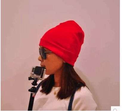 2edd297a8 US $17.0 |Men Women 100% super fine Merino wool Beanie hat running Running  riding winter thermals fleece cap knit Sports Warm cosy wool-in Skullies &  ...