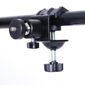 Image 2 - CY 1 adet Profesyonel fotoğraf aksesuarları çok fonksiyonlu ile 1/4 vida kafa olabilir döndür U klip C klip video kamera