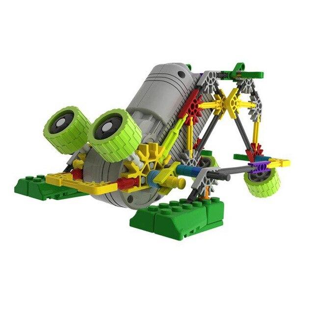 LOZ A0012 DIY Образования собирает частицы классический набор здание Электрический робот 4 стилей блокировать наборы игрушки для детей