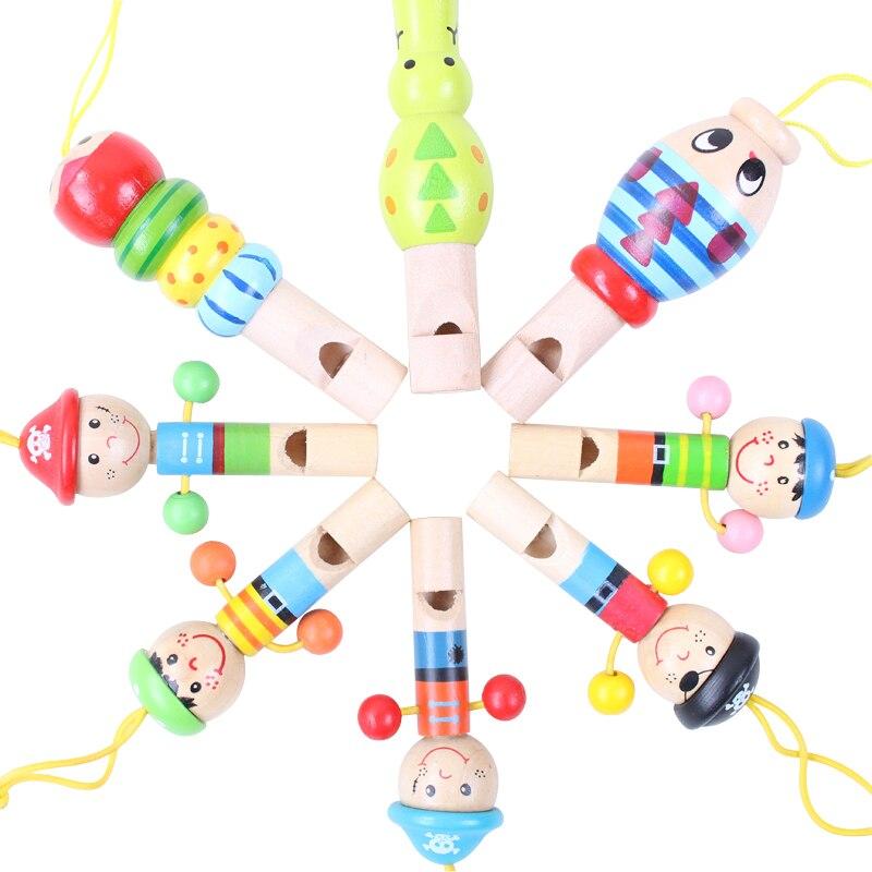 Billiger Preis 1 Stücke Mini Holz Spielzeug Für Kinder Cartoon Tier Pfeife Lustige Pädagogisches Musik Instrument Spielzeug Für Kinder Baby 1- 2 Jahre Alt Um Das KöRpergewicht Zu Reduzieren Und Das Leben Zu VerläNgern